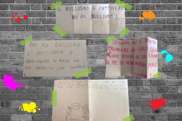 pensieri dei bambini sul bullismo
